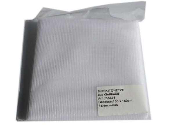 Fensterschutz Kit, 1x1,5 + Klett, weiß