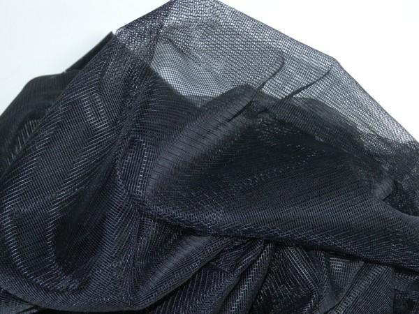 Tüll 001, 3,0 m breit, schwarz