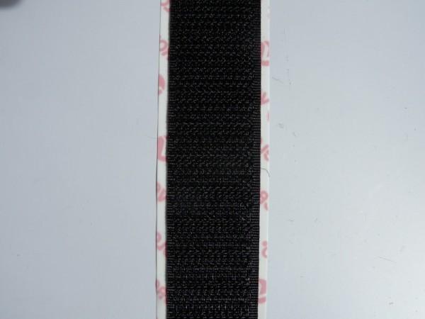 Velcro Häkchenband, 120 ° Acrylat-Polymer, schwarz
